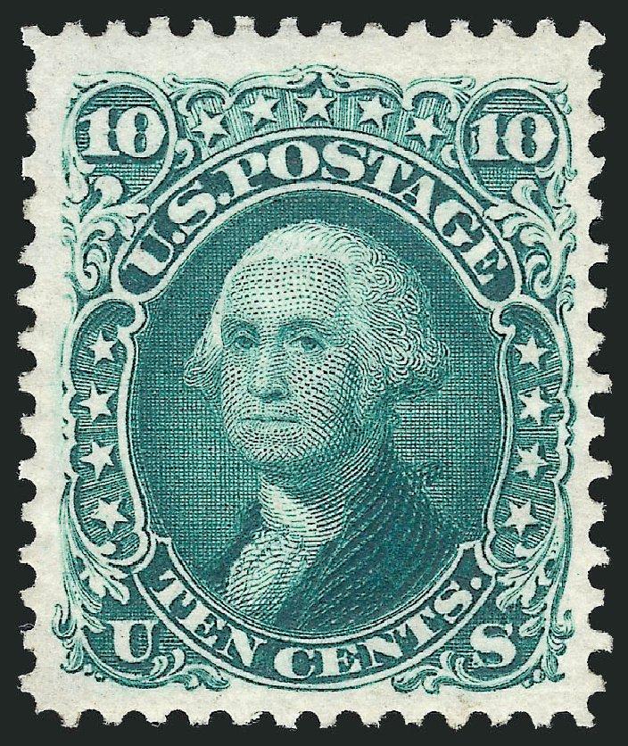 Costs of US Stamp Scott Catalog 106 - 10c 1875 Washington Without Grill. Robert Siegel Auction Galleries, Dec 2012, Sale 1037, Lot 1641