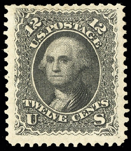 Cost of US Stamp Scott Catalog # 107 - 12c 1875 Washington Without Grill. Spink Shreves Galleries, May 2014, Sale 148, Lot 149