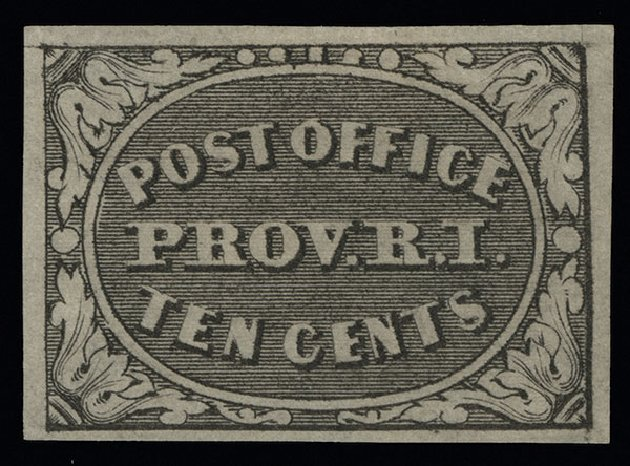 Price of US Stamps Scott Catalog #10X2: 5c 1846 Providence Postmasters Provisional. Spink Shreves Galleries, Aug 2013, Sale 144, Lot 107