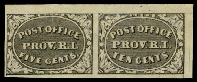 US Stamp Price Scott 10X2: 5c 1846 Providence Postmasters Provisional. Daniel Kelleher Auctions, May 2015, Sale 669, Lot 2334