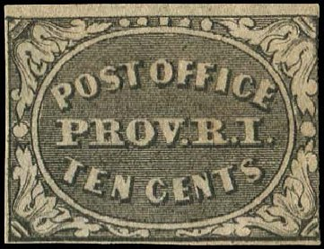Value of US Stamp Scott Catalogue 10X2 - 1846 5c Providence Postmasters Provisional. Regency-Superior, Nov 2014, Sale 108, Lot 12