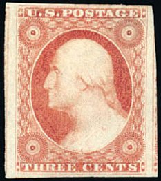 Costs of US Stamp Scott Catalog #11: 3c 1851 Washington. Schuyler J. Rumsey Philatelic Auctions, Apr 2015, Sale 60, Lot 1940