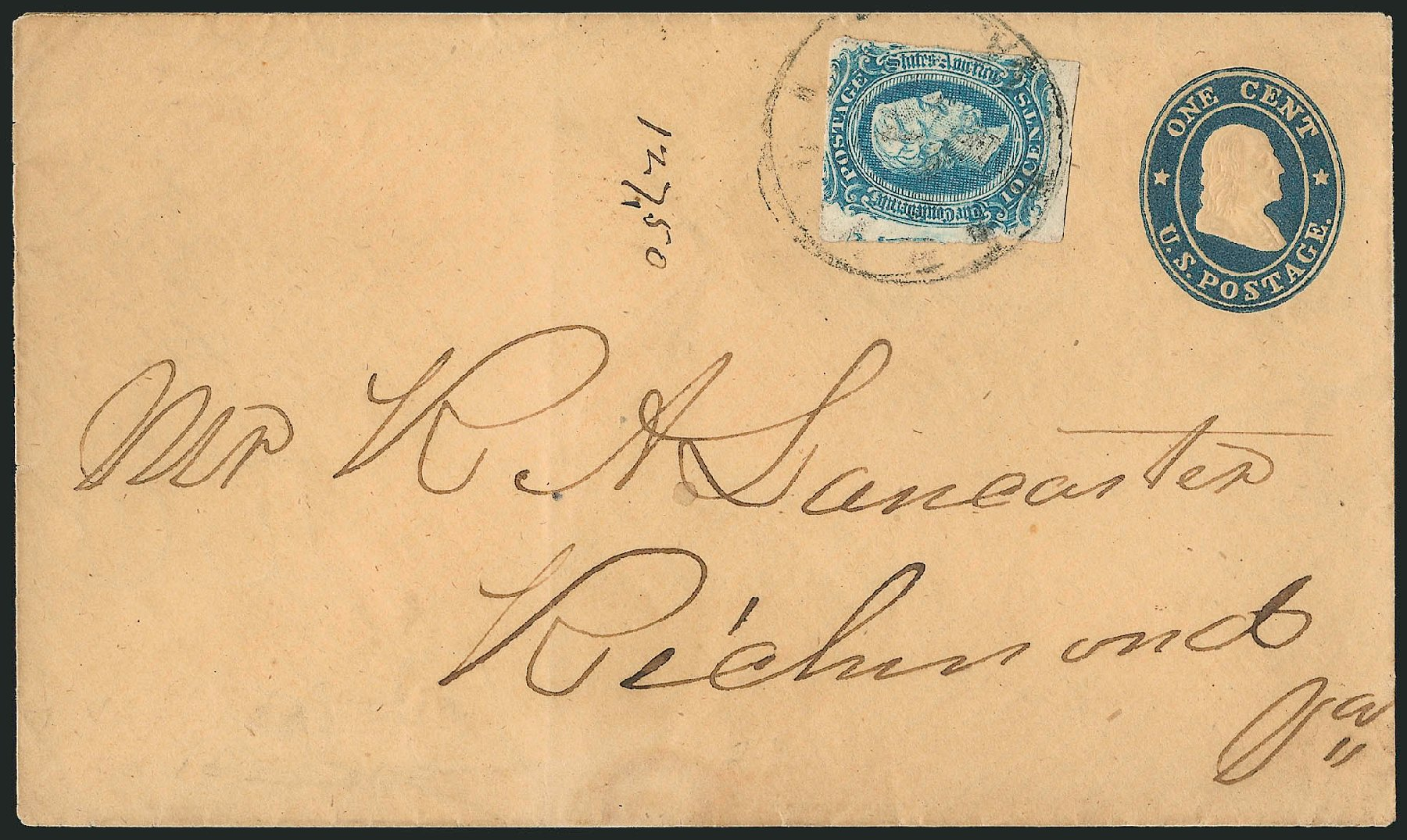 Costs of US Stamp Scott #11 - 1851 3c Washington. Robert Siegel Auction Galleries, Jun 2015, Sale 1105, Lot 2583