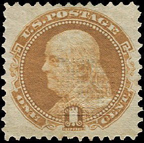 US Stamp Values Scott Cat. #112 - 1c 1869 Pictorial Franklin. Regency-Superior, Aug 2015, Sale 112, Lot 241