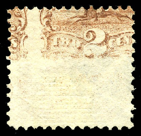 Cost of US Stamp Scott Catalog # 113 - 2c 1869 Pictorial Horse Rider. Matthew Bennett International, Feb 2015, Sale 351, Lot 94