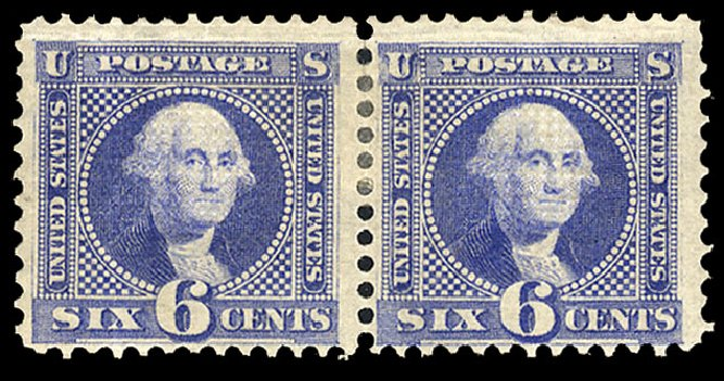 Cost of US Stamp Scott Catalogue 115 - 1869 6c Pictorial Washington. Cherrystone Auctions, Mar 2015, Sale 201503, Lot 7