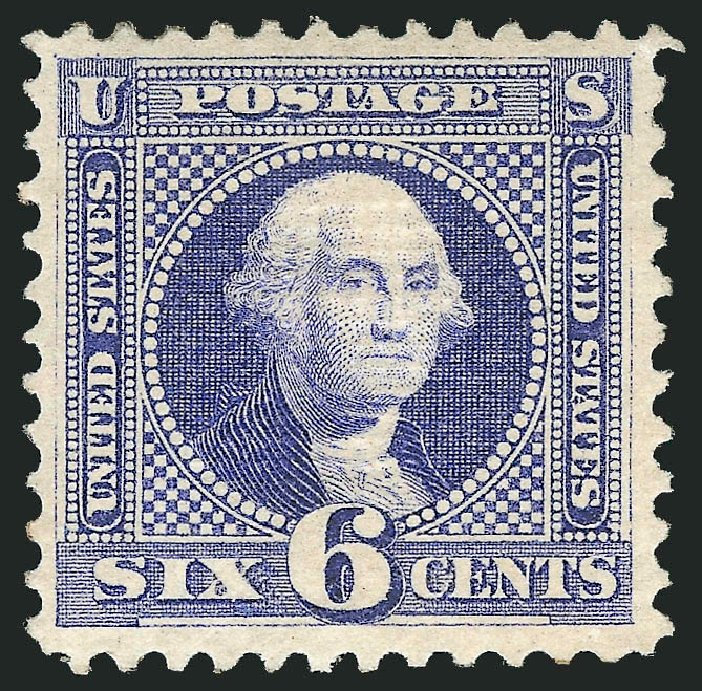 Values of US Stamps Scott Cat. # 115: 6c 1869 Pictorial Washington. Robert Siegel Auction Galleries, Apr 2015, Sale 1096, Lot 220