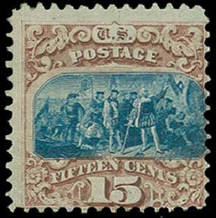 Price of US Stamp Scott Catalog # 118: 15c 1869 Pictorial Columbus. H.R. Harmer, Jun 2015, Sale 3007, Lot 3192