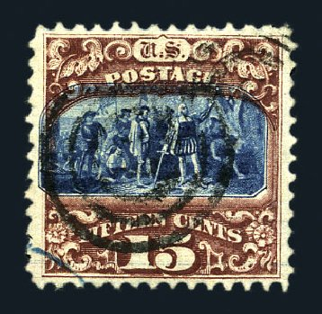 US Stamps Prices Scott Catalogue 119: 15c 1869 Pictorial Columbus. Harmer-Schau Auction Galleries, Aug 2015, Sale 106, Lot 1469
