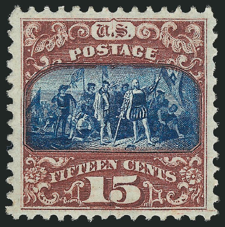 US Stamps Price Scott Catalog #119 - 15c 1869 Pictorial Columbus. Robert Siegel Auction Galleries, Jun 2015, Sale 1106, Lot 3114