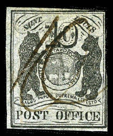 Value of US Stamps Scott Catalogue # 11X8 - 10c 1846 St Louis Postmasters Provisional. Matthew Bennett International, Feb 2012, Sale 340, Lot 19