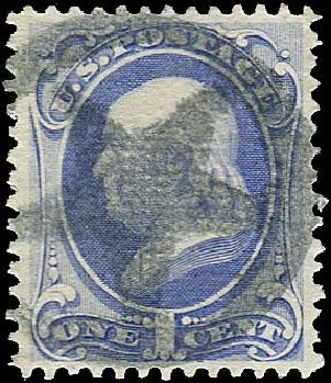 Cost of US Stamp Scott #134: 1870 1c Franklin National Grill. Regency-Superior, Nov 2014, Sale 108, Lot 316