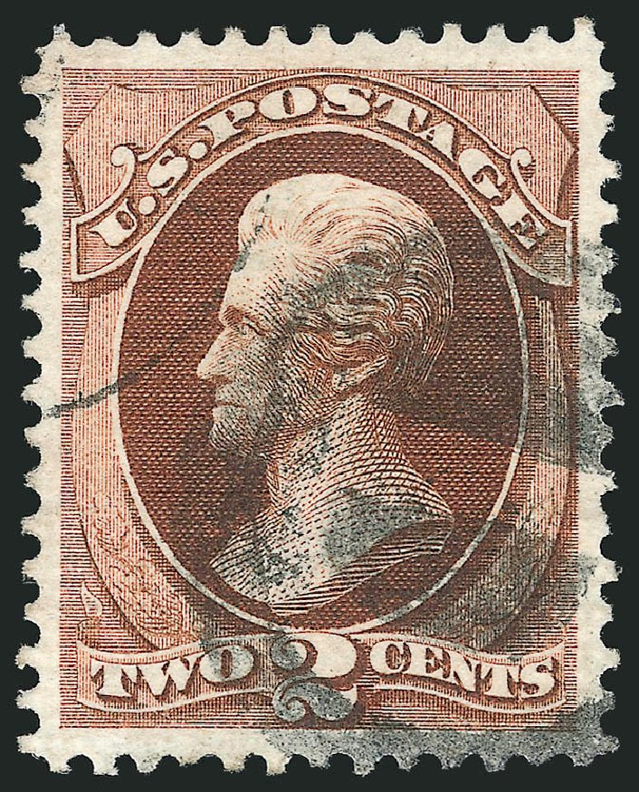 Prices of US Stamp Scott Catalog # 135: 2c 1870 Jackson Grill. Robert Siegel Auction Galleries, Mar 2014, Sale 1067, Lot 1132