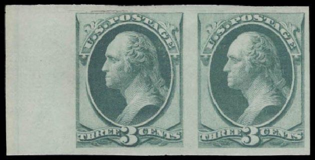 US Stamps Value Scott Catalog # 136: 1870 3c Washington Grill. Daniel Kelleher Auctions, Aug 2015, Sale 672, Lot 2400