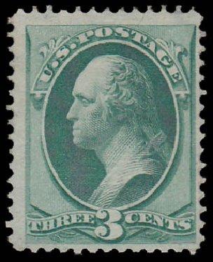 Price of US Stamp Scott Catalogue 136 - 3c 1870 Washington Grill. Daniel Kelleher Auctions, Jan 2015, Sale 663, Lot 1376