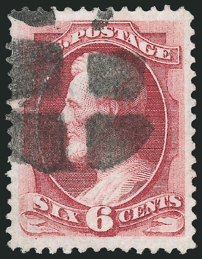 Cost of US Stamps Scott #137: 6c 1870 Lincoln Grill. Robert Siegel Auction Galleries, Nov 2014, Sale 1084, Lot 3369