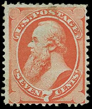 Prices of US Stamp Scott Catalogue # 138: 7c 1871 Stanton Grill. H.R. Harmer, Jun 2015, Sale 3007, Lot 3204