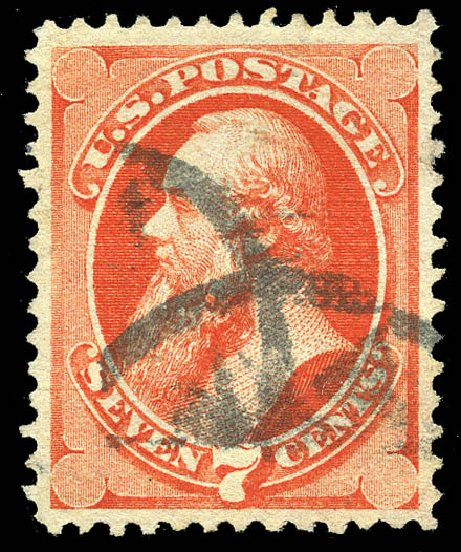 Price of US Stamp Scott Cat. # 138: 1871 7c Stanton Grill. Matthew Bennett International, May 2014, Sale 350, Lot 252