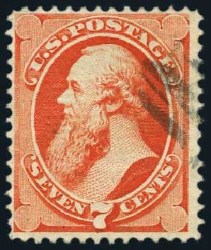 Price of US Stamp Scott #138: 7c 1871 Stanton Grill. Harmer-Schau Auction Galleries, May 2015, Sale 105, Lot 126