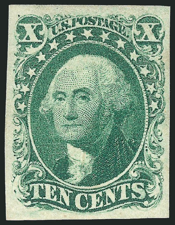 Cost of US Stamps Scott Catalog # 14: 1855 10c Washington. Robert Siegel Auction Galleries, Apr 2015, Sale 1096, Lot 30