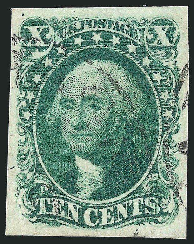 Costs of US Stamps Scott 14 - 10c 1855 Washington. Robert Siegel Auction Galleries, Apr 2015, Sale 1096, Lot 31