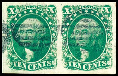 Costs of US Stamps Scott Catalog 14: 1855 10c Washington. Schuyler J. Rumsey Philatelic Auctions, Apr 2015, Sale 60, Lot 1952