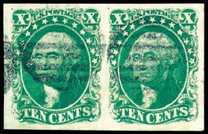 Costs of US Stamps Scott Catalog 14: 1855 10c Washington. Schuyler J. Rumsey Philatelic Auctions, Apr 2015, Sale 60, Lot 1952