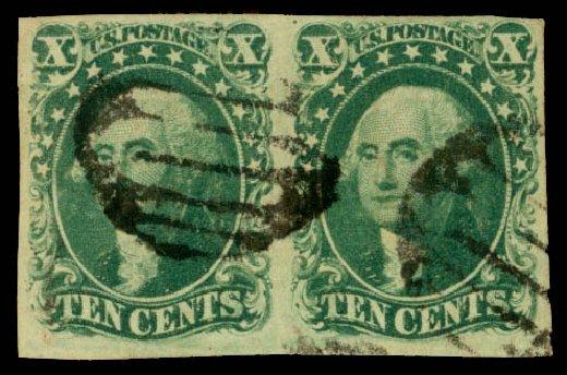 Cost of US Stamps Scott Cat. # 14: 1855 10c Washington. Daniel Kelleher Auctions, Jan 2015, Sale 663, Lot 1233