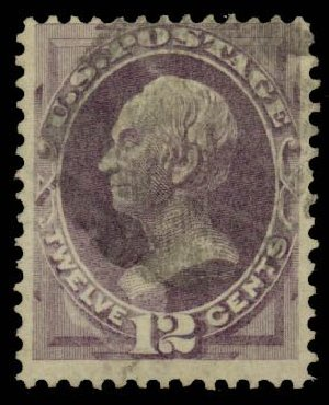 US Stamp Price Scott # 140 - 12c 1870 Clay Grill. Daniel Kelleher Auctions, Sep 2013, Sale 639, Lot 397