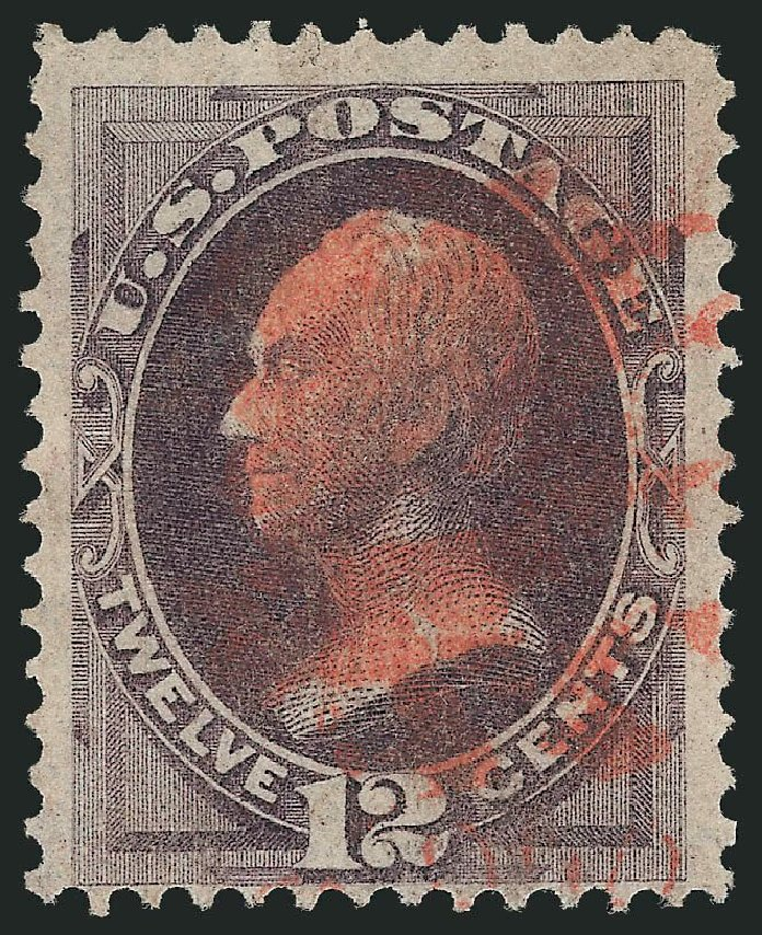 Prices of US Stamp Scott Catalogue #140 - 12c 1870 Clay Grill. Robert Siegel Auction Galleries, Mar 2013, Sale 1040, Lot 1397