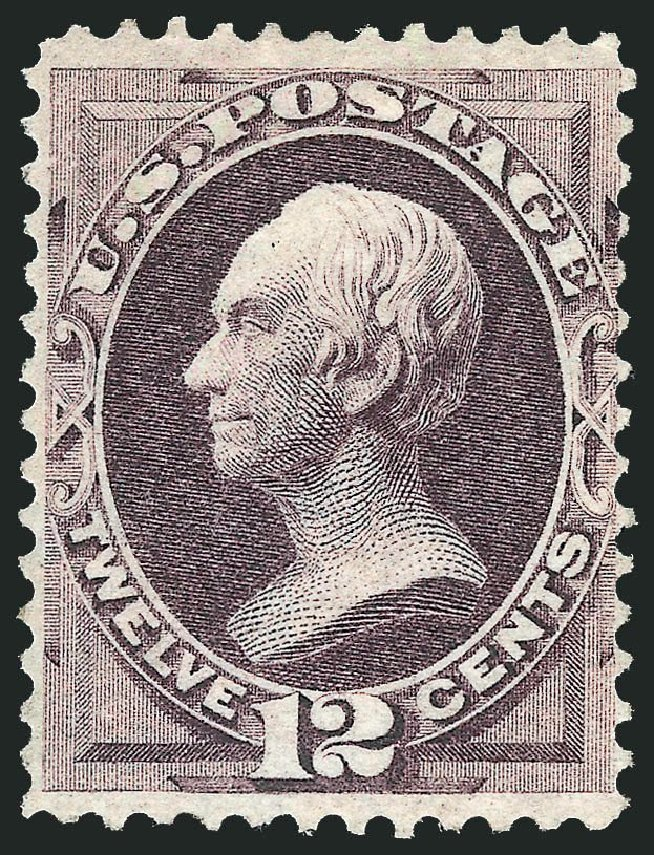 Price of US Stamp Scott #140: 12c 1870 Clay Grill. Robert Siegel Auction Galleries, Nov 2013, Sale 1057, Lot 708