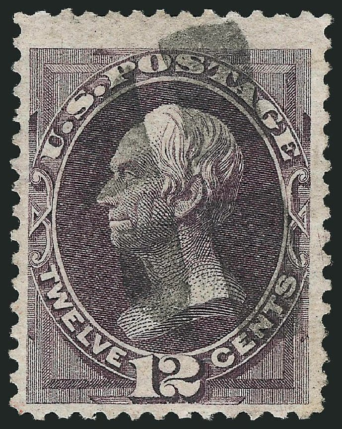 US Stamp Price Scott Cat. #140 - 1870 12c Clay Grill. Robert Siegel Auction Galleries, Nov 2014, Sale 1084, Lot 3378