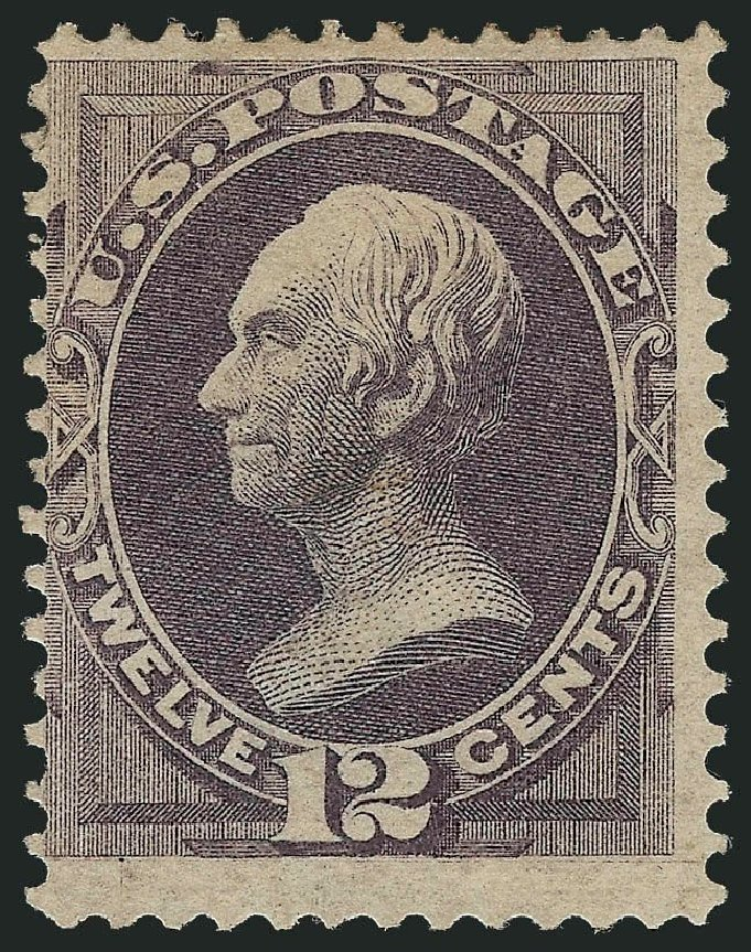 US Stamps Prices Scott Catalog # 140: 1870 12c Clay Grill. Robert Siegel Auction Galleries, Nov 2013, Sale 1057, Lot 709