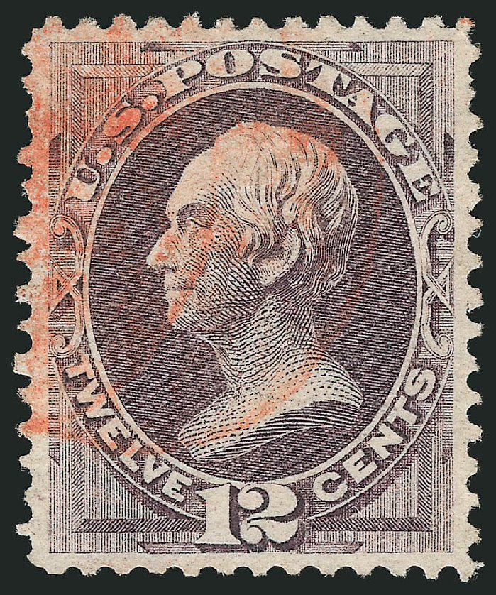 Cost of US Stamp Scott Catalogue 140: 12c 1870 Clay Grill. Robert Siegel Auction Galleries, Apr 2015, Sale 1096, Lot 269