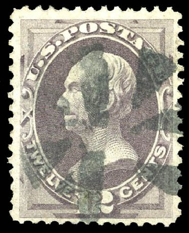 Prices of US Stamps Scott Cat. #140 - 1870 12c Clay Grill. Matthew Bennett International, Feb 2015, Sale 351, Lot 110