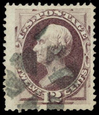 Value of US Stamps Scott # 140 - 12c 1870 Clay Grill. Daniel Kelleher Auctions, May 2014, Sale 652, Lot 270