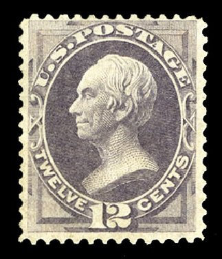 Prices of US Stamps Scott #140: 1870 12c Clay Grill. Cherrystone Auctions, Jul 2015, Sale 201507, Lot 2061