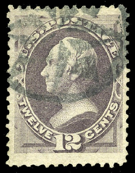Value of US Stamp Scott Catalogue # 140 - 1870 12c Clay Grill. Matthew Bennett International, May 2014, Sale 350, Lot 254