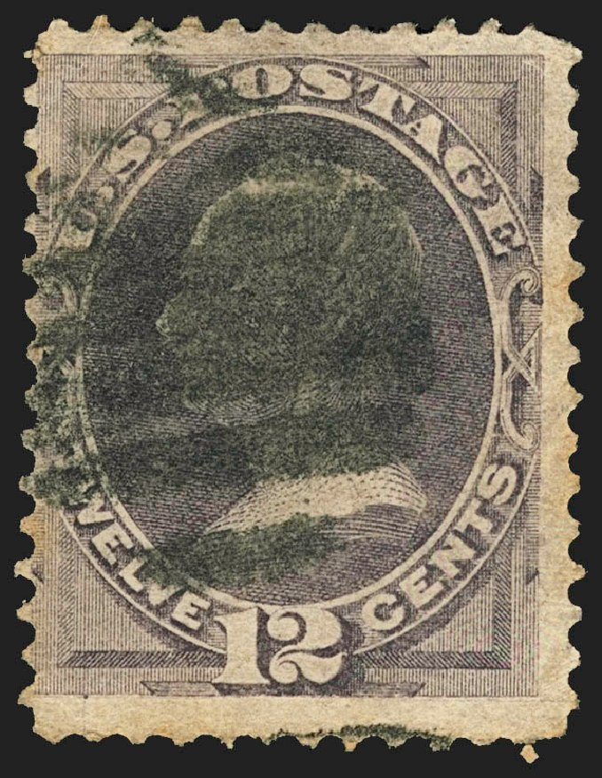 US Stamp Prices Scott Catalogue # 140: 12c 1870 Clay Grill. Robert Siegel Auction Galleries, Jul 2015, Sale 1107, Lot 264