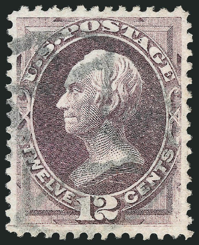 Values of US Stamp Scott #140 - 1870 12c Clay Grill. Robert Siegel Auction Galleries, Oct 2012, Sale 1032, Lot 3222
