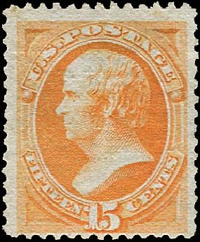 Values of US Stamp Scott #141: 15c 1870 Webster Grill. Regency-Superior, Jan 2015, Sale 109, Lot 801