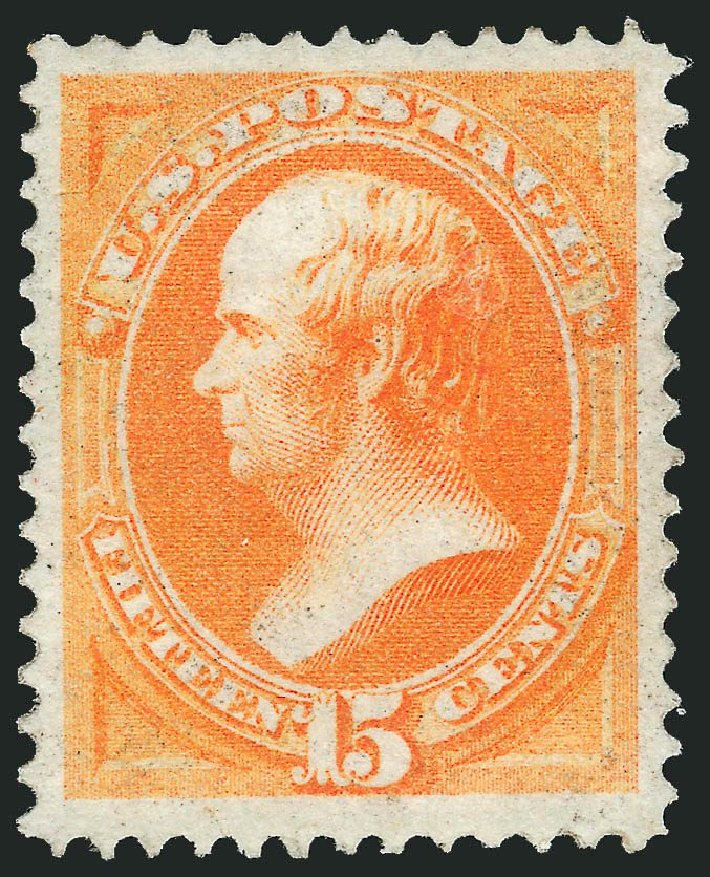 Prices of US Stamp Scott Cat. 141: 1870 15c Webster Grill. Robert Siegel Auction Galleries, Dec 2014, Sale 1090, Lot 1301