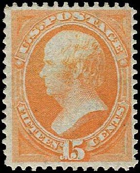US Stamp Value Scott #141: 15c 1870 Webster Grill. Regency-Superior, Jan 2015, Sale 109, Lot 802