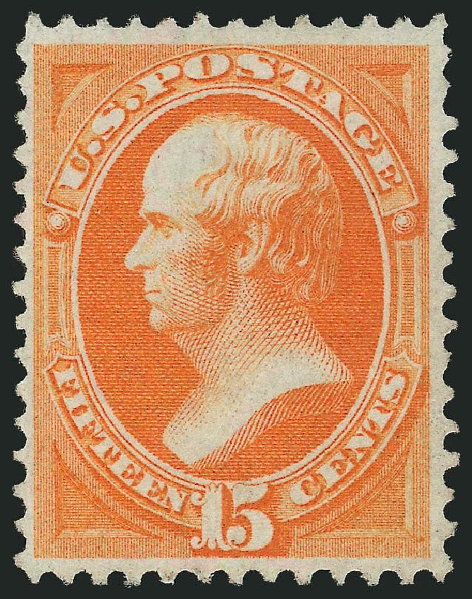 Costs of US Stamp Scott Catalogue #141: 1870 15c Webster Grill. Robert Siegel Auction Galleries, Dec 2014, Sale 1090, Lot 1302