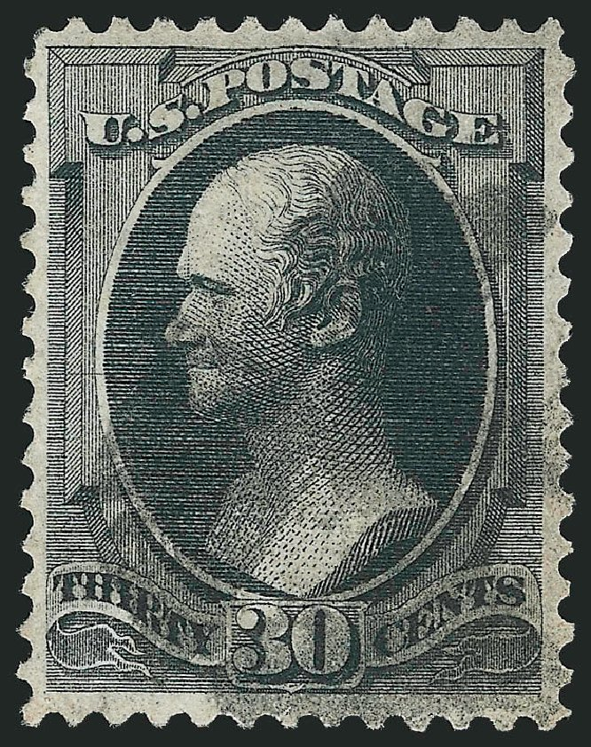 Values of US Stamp Scott Catalog #143 - 1870 30c Hamilton Grill. Robert Siegel Auction Galleries, Apr 2015, Sale 1096, Lot 274