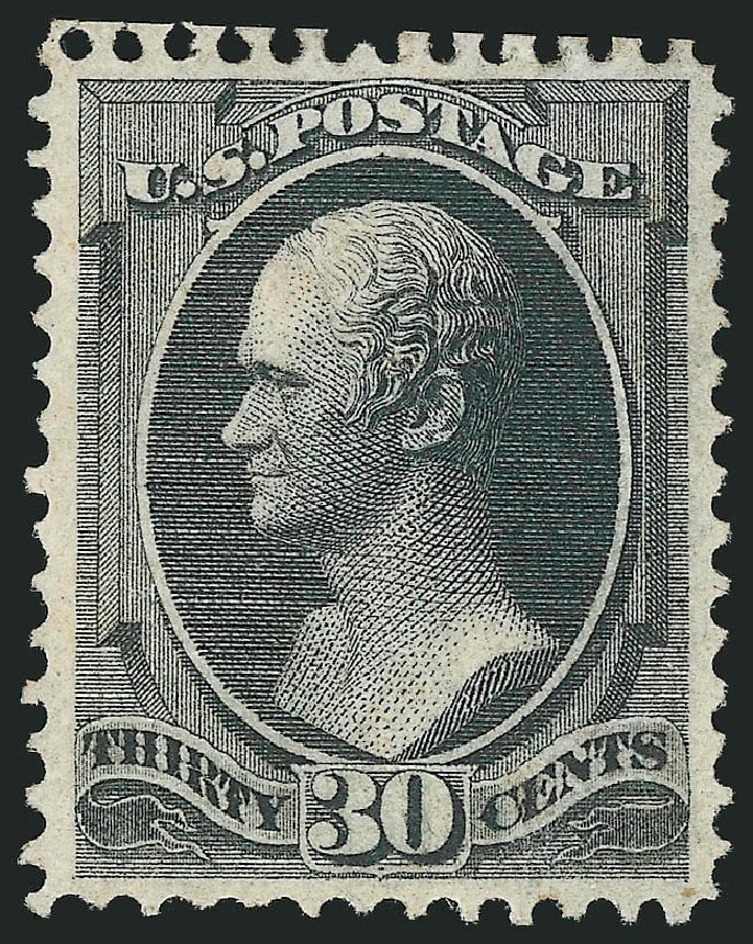 US Stamps Value Scott Catalogue # 143 - 30c 1870 Hamilton Grill. Robert Siegel Auction Galleries, Apr 2015, Sale 1096, Lot 273