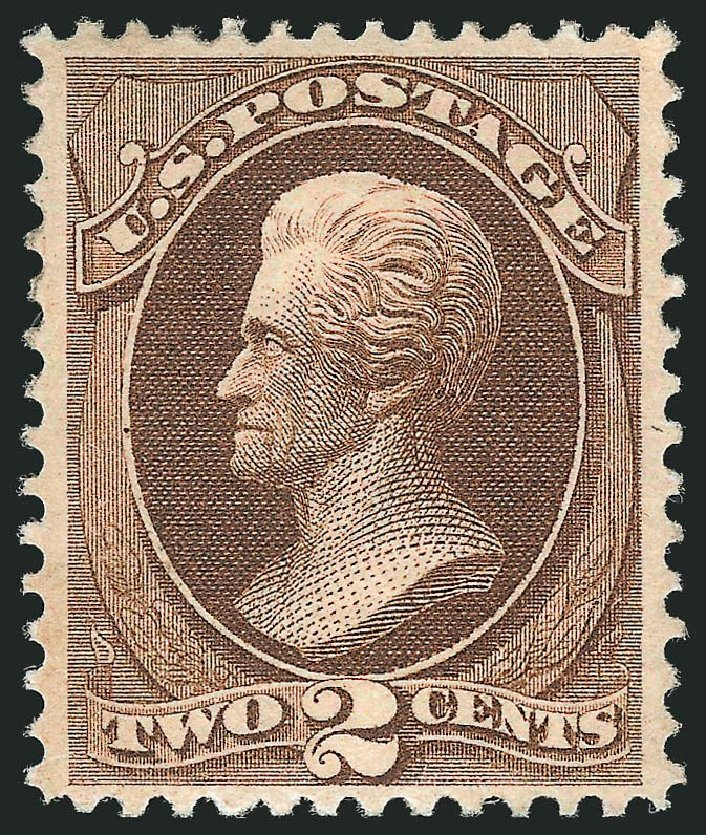 US Stamps Values Scott Catalogue #146 - 1870 2c Jackson Without Grill. Robert Siegel Auction Galleries, May 2013, Sale 1044, Lot 132