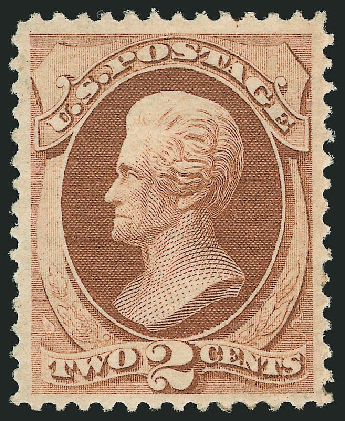 Cost of US Stamp Scott Catalog 146 - 2c 1870 Jackson Without Grill. Robert Siegel Auction Galleries, Jul 2014, Sale 1077, Lot 143