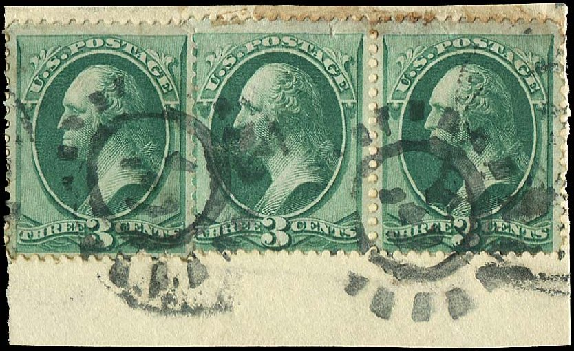 Prices of US Stamp Scott Cat. #147 - 3c 1870 Washington Without Grill. Regency-Superior, Aug 2015, Sale 112, Lot 303