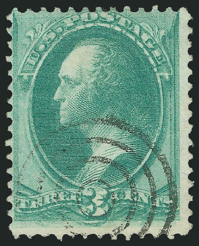 Prices of US Stamps Scott Cat. 147 - 3c 1870 Washington Without Grill. Robert Siegel Auction Galleries, Jun 2015, Sale 1106, Lot 3123